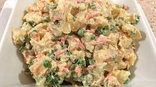 Potato Salad (Pizza Hut Style) | Quick & Delicious Cuisine