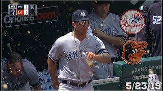 New York Yankees Highlights: vs Baltimore Orioles   5/23/19