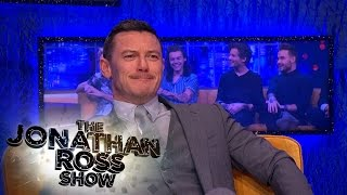 Luke Evans And Taron Egerton Have A Welsh Off - The Jonathan Ross Show