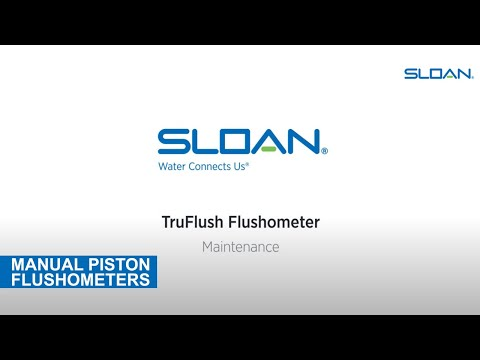 Sloan TruFlush Maintenance
