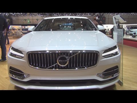 Volvo S90 T8 (2016) Exterior and Interior in 3D
