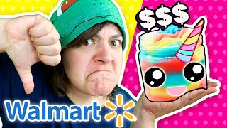 Cash or Trash? Unicorn DIY Testing 4 Craft Kits from Walmart