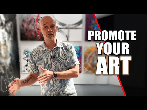 How should you promote your art? Here's my Top 10! Ask the Artist No 2