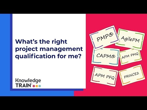 What's the right project management qualification for me?
