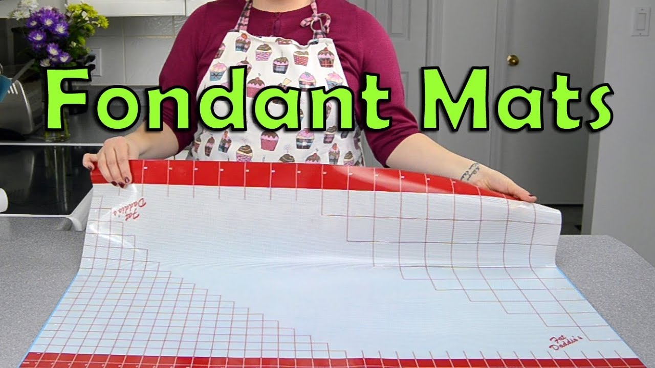 Fondant Mats 101 Baking Quick Tip From Cookies Cupcakes