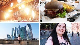 VLOG: /Поездка в Москву/Black Star Burger/Концерт 7жизней/6.09.18