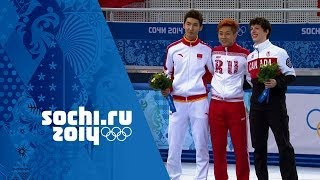 Short Track Speed Skating - Men's 500m - Victor An Wins Gold | Sochi 2014 Winter Olympics