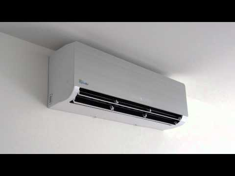 Senville Ductless Air Conditioners and Heat Pump - Running at Full Fan Speed - *QUIET*