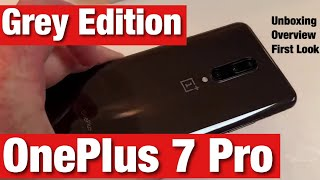 OnePlus 7 Pro Grey Unboxing Breeze Through (mirror grey)