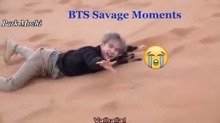 BTS (방탄소년단) savage moments