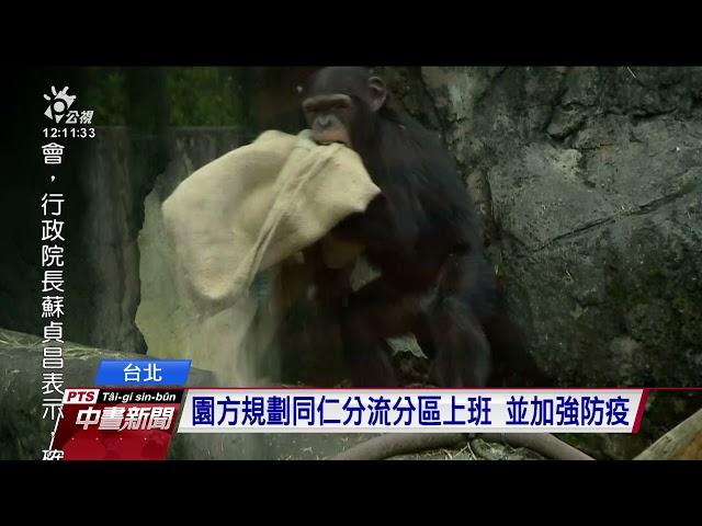 建園來首次 台北市立動物園因疫情關閉