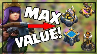 Maximizing Queen VALUE! Clash of Clans Attack Strategy for Town Hall 12