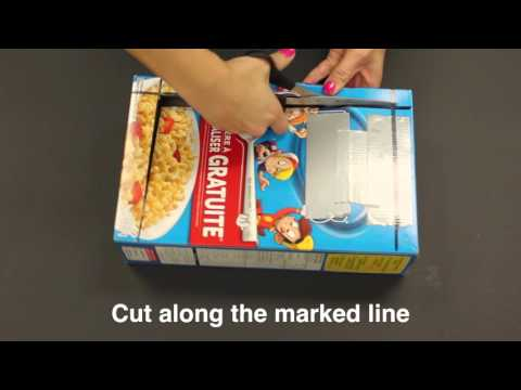 Video: Emergency Preparedness Hack: Make a solar oven using a cereal box and aluminum foil