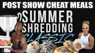 Christian Guzman's Summer Shredding Classic - Full Day of Post Show Cheat Meals - Alphalete Workout