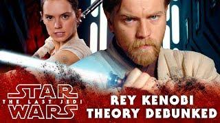 Rey Kenobi Officially Debunked by... John Boyega! | Star Wars The Last Jedi Speculation