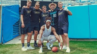 MrBeast and Cam Newton break some World Records