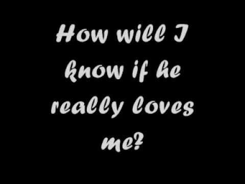 Whitney Houston - How Will I Know (Lyrics)