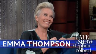How Emma Thompson Prepared For 'Late Night'