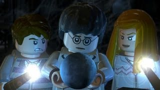 LEGO Harry Potter Years 5-7 Walkthrough Part 7 - Year 5 Final Boss Vs. Voldemort - A Veiled Threat