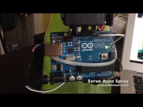 Arduino Tutorial - Automatic Servo Spray