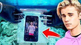 I Found Justin Bieber's Lost iPhone Underwater (It Works)