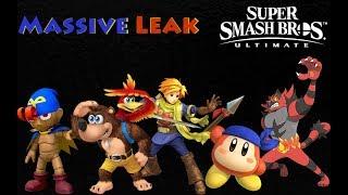 """MASSIVE"" Smash Bros. Ultimate Leak - Super Smash Bros. Ultimate"