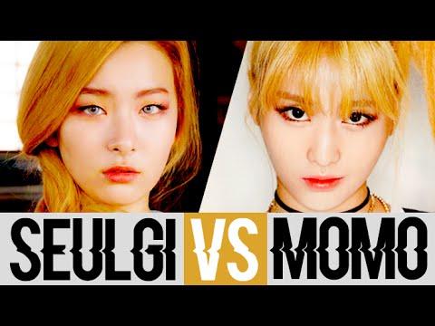 Red Velvet's Seulgi VS Twice's Momo