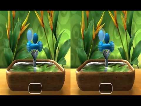 Shin'en: Art of Balance TOUCH! (Nintendo 3DS) Trailer (3D)