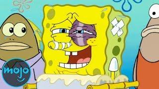 Top 10 Worst Things That Happened to SpongeBob SquarePants