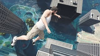 GTA 5 Epic Ragdolls Flooded Los Santos Ep.7