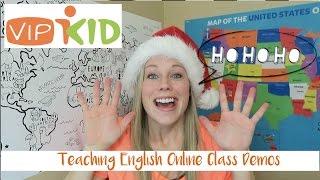 Teaching English Online Class Demos