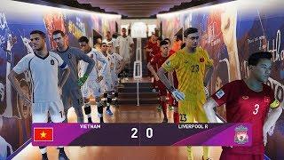 VIETNAM vs LIVERPOOL - Giao hữu câu lạc bộ chuẩn bị Worldcup Qatar 2022 - PES 2020