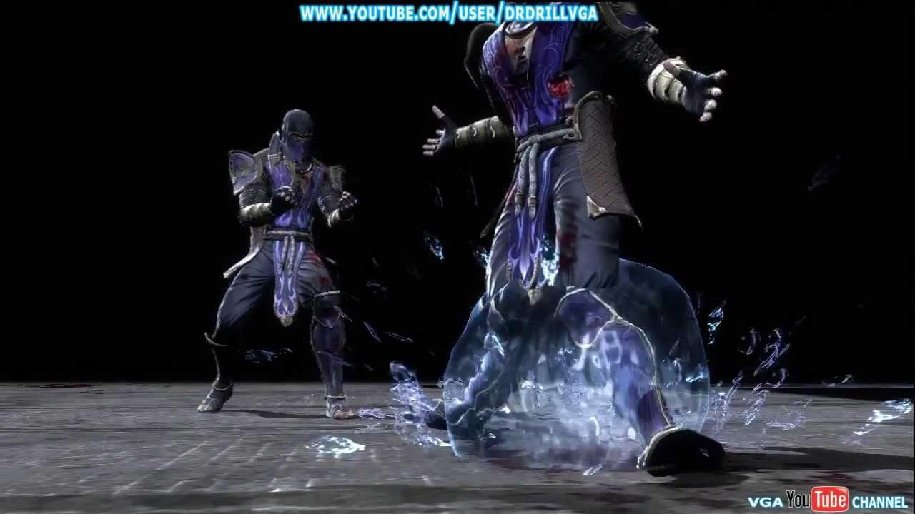 Mortal Kombat 9 Rain X Ray Babality And Both Fatalities HD ...