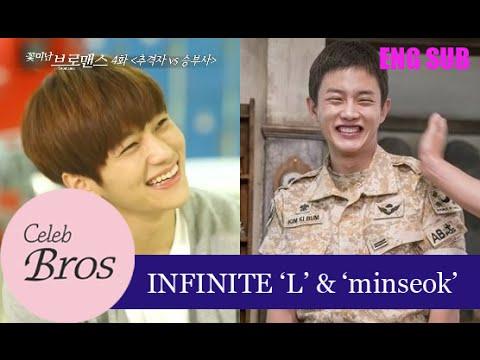 INFINITE L & Minseok, Celeb Bros S6 EP4