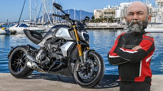 FIRST RIDE: 2019 Ducati Diavel 1260 S Review in Spain