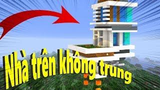 Cách Làm Nhà Trên Không Trung ? (Minecraft)