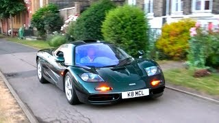 The $30 Million WORLD RECORD Mclaren F1 in London!