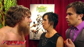 Raw - Vickie Guerrero gives Daniel Bryan a rematch with Randy Orton: Raw, June 24, 2013