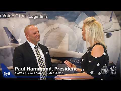 At ACF in Toronto, Paul Hammond spoke with Nadia Dunn about the Cargo Screening K9 Alliance, and how we plan to support the industry nationwide with our exclusive network of dog teams.