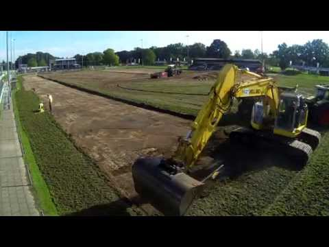 Synthetic Turf Timelapse at ATC'65 Football Club