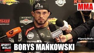 KSW 39: Borys Mańkowski po walce z Mamedem Khalidovem