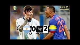 Argentina 0 x 2 Colômbia - NÃO DEU PRO MESSI ! Melhores Momentos (60fps) - Copa América 2019