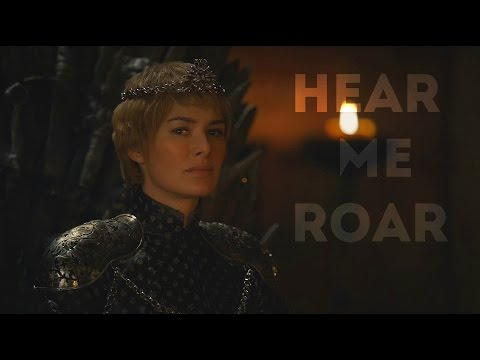 (GoT) Cersei Lannister || Hear me roar, Spoilers. An amazing tribute to one of my favorite characters.
