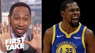 'You've got to be crazy' to think anyone can surpass Kevin Durant - Stephen A. | First Take