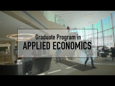 Graduate program directors discuss the Applied Economics degree at Bryant University