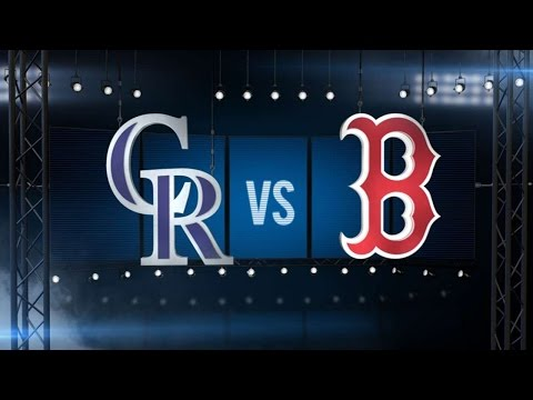5/26/16: CarGo, Gray send Rockies to a win in Boston