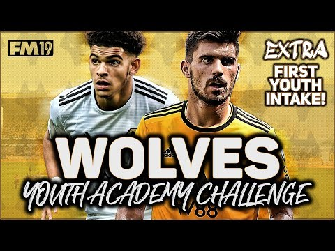 WOLVES YOUTH ACADEMY CHALLENGE EXTRA: OUR FIRST YOUTH INTAKE! - FOOTBALL MANAGER 2019