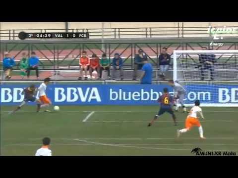 이강인 바르셀로나전 볼터치 - Kangin Lee(ValenciaCF) vs Barcelona. 13/12/28
