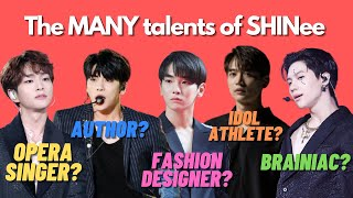 A guide to SHINee's unbelievable talents