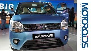 All New 2019 Big Maruti Suzuki WagonR | First Impressions And Walkaround Review | Motoroids